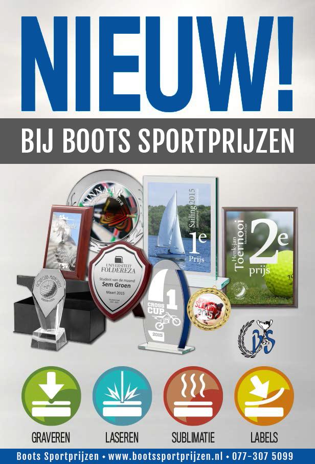 Personaliseren Boots Sportprijzen